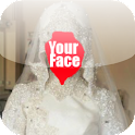 Hijab Wedding Photo Montage icon