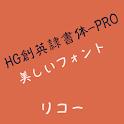 HGSoeiReishotaiPRO Flipfont icon