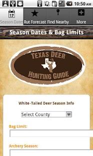 Texas Deer Hunting Guide Pro- screenshot thumbnail