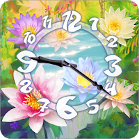 Flower Clock Live Wallpaper 4.4mr
