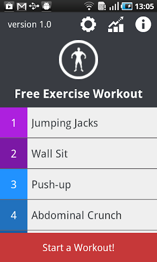 Free Exercise Workout