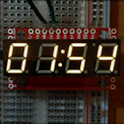 7seg Clock for Wear
