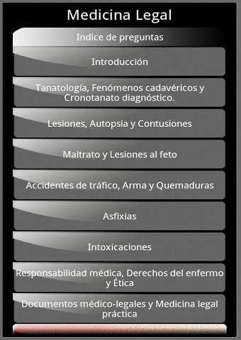 【免費醫療App】Medicina legal en preguntas-APP點子