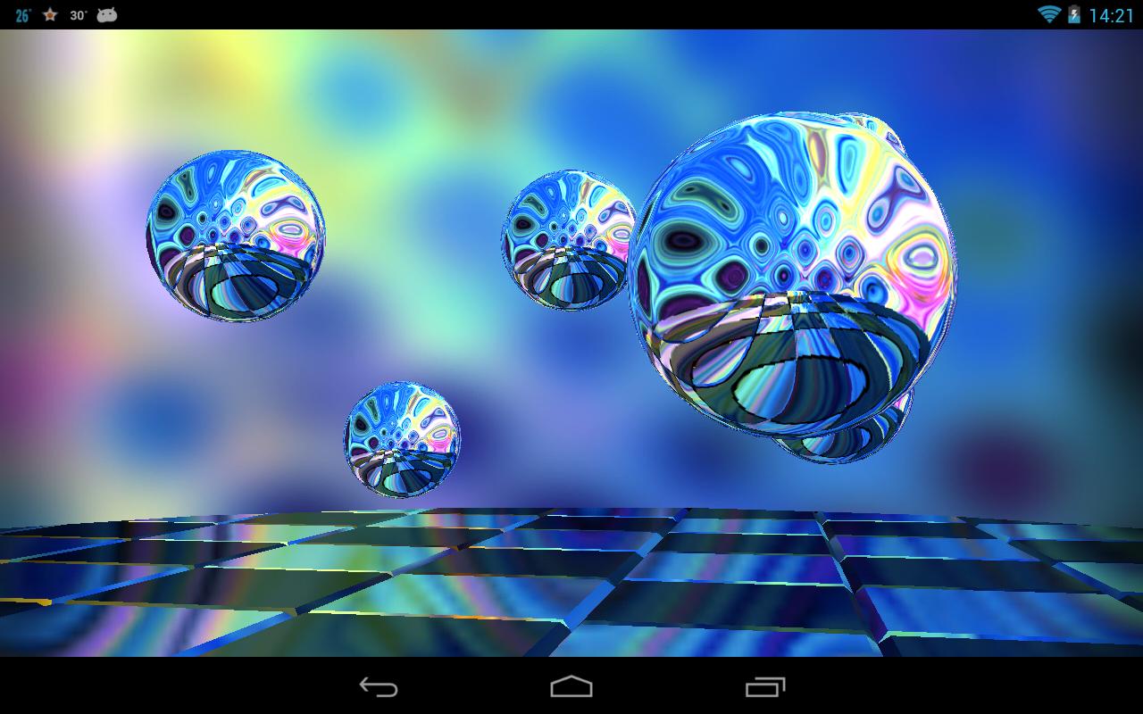 Reflections HD Live Wallpaper- screenshot