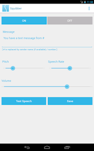 Squibber - SMS Voice Notifier- screenshot thumbnail