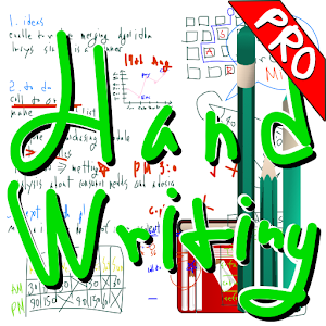 Handwriting notes Pro