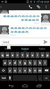 Faded Blue CM11 AOKP Theme- screenshot thumbnail