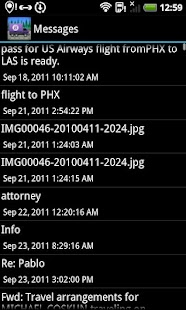 BerryMover - BlackBerry data - screenshot thumbnail