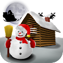 Christmas Snowman - Wallpaper icon