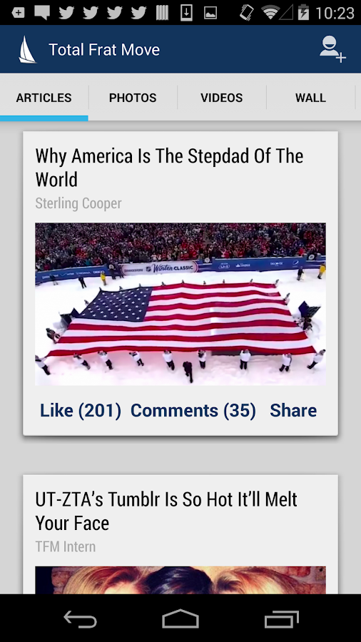 TFM - Total Frat Move- screenshot
