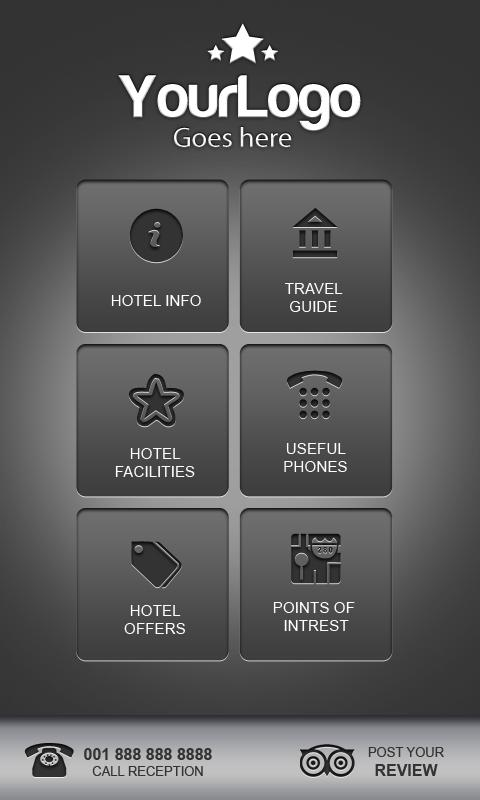 InHotelApp - screenshot