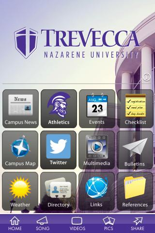 Trevecca Nazarene University - screenshot