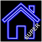 Blue Neon Super Theme