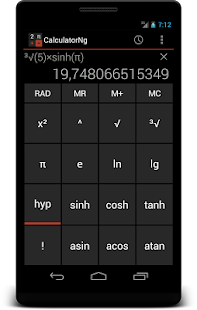 CalculatorNg - Calculator Screenshot 3