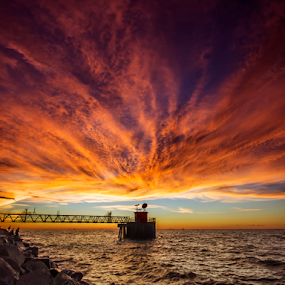 Fiery by Andrew Micheal - Landscapes Cloud Formations (  )