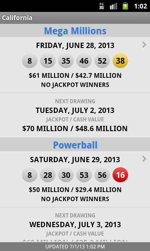 Texas Lottery Results