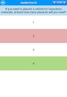 Screenshot of HazMat Test Lite