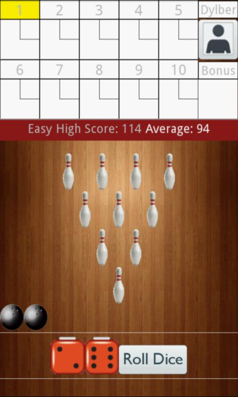 Ten Pin Bowling - screenshot