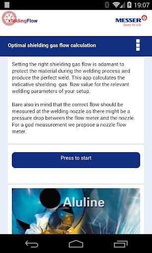 Shielding gas flow