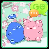GO SMS Pro Japan Garden Theme