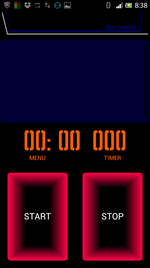 TRONICA Retro Cyber StopWatch - screenshot