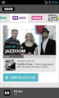 Screenshot of DR Radio
