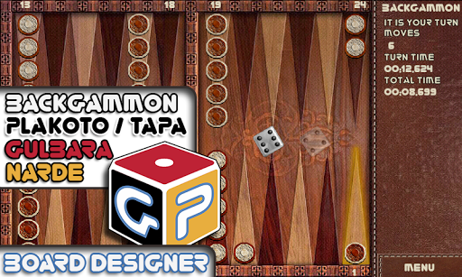 Backgammon Game ✰