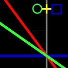 幾何時鐘動態壁紙 icon