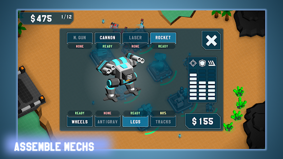 MechCom - 3D RTS- screenshot thumbnail