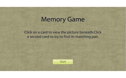 Memory Game - Fruit