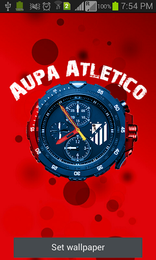 Atletico Fondo Animado Demo