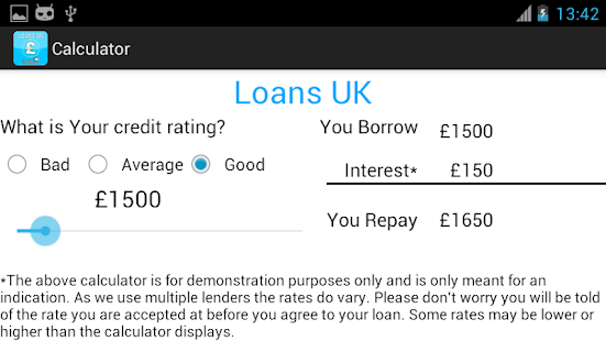 Loans UK- screenshot thumbnail