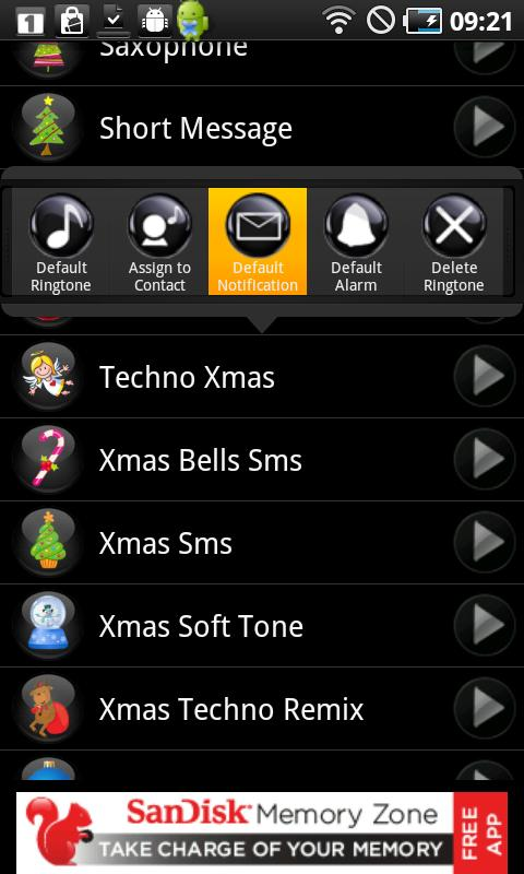 Christmas Ringtones - screenshot