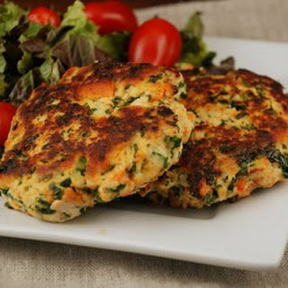 Sweet Potato and Kale Chicken Patties