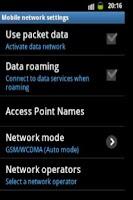 Screenshot of Packet Data Toggler