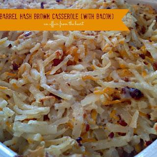 Copy Cat – Cracker Barrel Hash Brown Casserole (with BACON!).