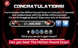 Screenshot of The Million Pound Drop
