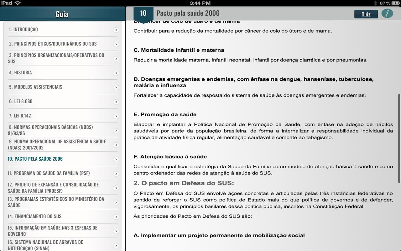 SUS para Concursos- screenshot