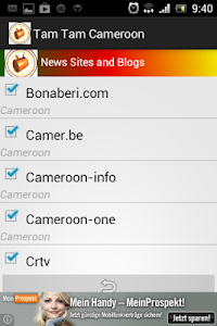 TamTam Cameroon News screenshot 1