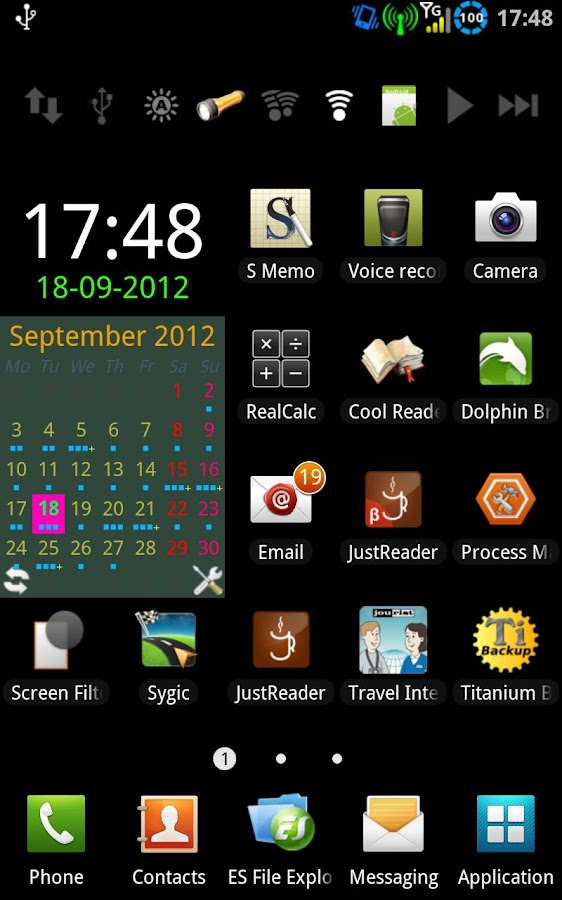 wCalendar- screenshot