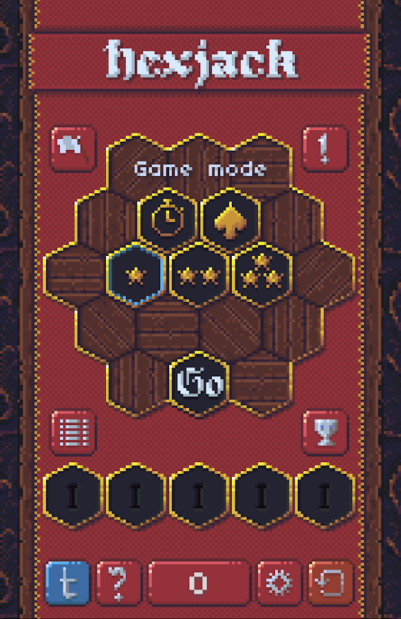 Hexjack- screenshot