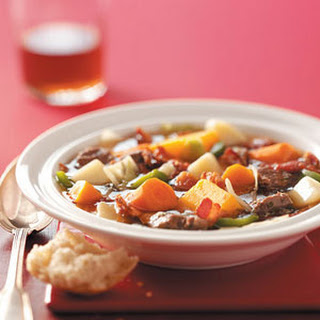 Loaded Vegetable Beef Stew Recipe.