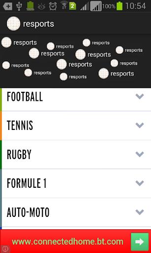resultats des sports