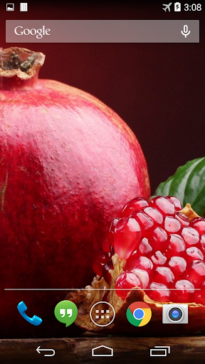 Pomegranate Live Wallpaper