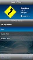Screenshot of Drivers Ed - DMV Permit Test