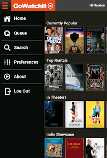 GoWatchIt Movie Search & Queue- screenshot thumbnail