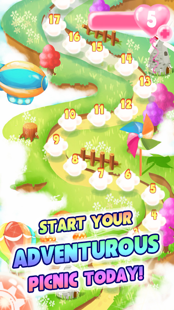 Fresh Fruit Farmer Blaze Blitz- screenshot