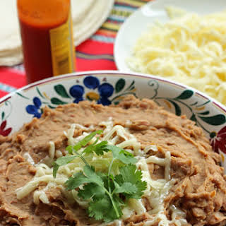 """Healthier """"Refried"""" Beans."""
