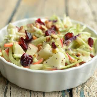 Kids Favorite Broccoli Apple Salad.