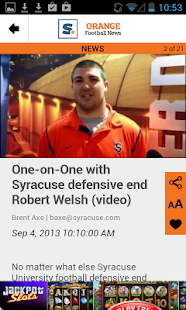 syracuse.com: SU Football News - screenshot thumbnail